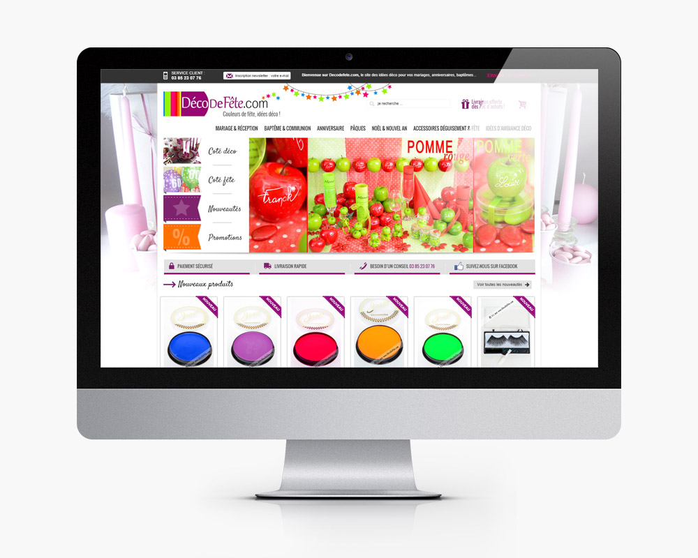 creation refonte site e commerce decoration