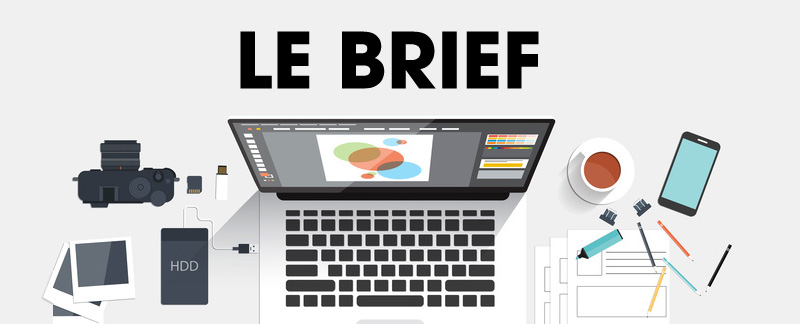 Webdesign, l'importance du brief créatif